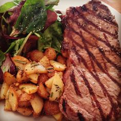 Our Hampson's Cornish Sirloin Steak. Here at Antoninis we are particular about the quality of our products. There aren't many places nearby where you are guaranteed the best local meat. We even advertise the farm it's from! Sirloin Steaks, Menu, Dishes, Places, Food, Products, Menu Board Design, Lugares, Essen