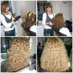 permed styles with tight curls – Permed Hairstyles - Perm Hair Styles Medium Permed Hairstyles, Wig Hairstyles, Wavy Curls, Tight Curls, Love Hair, Big Hair, Curly Hair Styles, Natural Hair Styles, Air Dry Hair