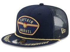 online retailer 4d2ec 73888 New Era Captain, New Era Collection, New Era Captain Gear. Riding  HelmetsPatchesCaptain MarvelFashionSnapbackModaFasionSnapback HatsSnapback  Cap
