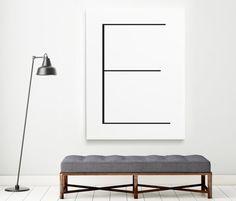 Letter E   ► Letters & Symbolen   Postersinhuis.nl
