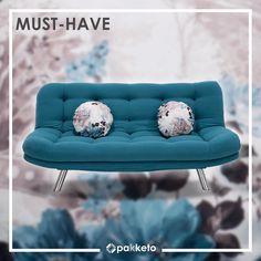 ρειάζεστε καναπέ-κρεβάτι; Τον βρήκαμε! Δείτε όλα τα πλεονεκτήματά του στο blog του www.pakketo.com . . #pakketo #furniture #sofabed #grey #furnituredesign #tirquoise Couch, Blog, Furniture, Home Decor, Settee, Decoration Home, Sofa, Room Decor, Blogging