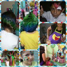 #Leve #para #seu #evento....     Um Mini Camarim especialmente montado  para meninasemeninos...   Fazendo a cabeça da criançada.          CAMARIM FASHIONKIDS  Cabelo Divertido com Gel... Glitten... spray colorido!!! Diversos tipo de penteados!!!  Maquiagem!!!  Unhas Decoradas!!! Pintura Facial!!!  Esculturas de Balões!!!!   #whatssap  98730 8841