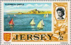Sello: Elizabeth Castle (Jersey) (Views on Jersey) Mi:JE 34,Sn:JE 34,Yt:JE 28,Sg:JE 42,AFA:JE 28,Un:JE 28