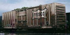 SLSF, Saint Louis and San Francisco 50' Plug Door Boxcar, 600112 1989