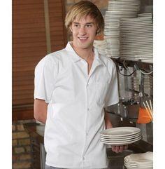 Edwards Garment Company   Button Front Utility Shirt   Chef Apparel   Clemens Uniform   1303