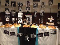 Mesa de chuches para fiesta de 50 años