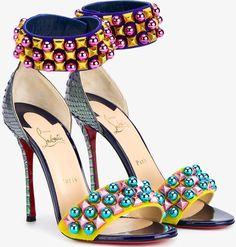 "Christian Louboutin ""Tudor Bal"" Sandals"