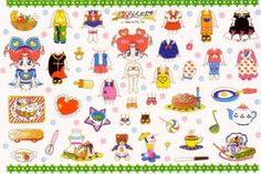 Sailor Moon Paper Dolls Printables Images are for home use only