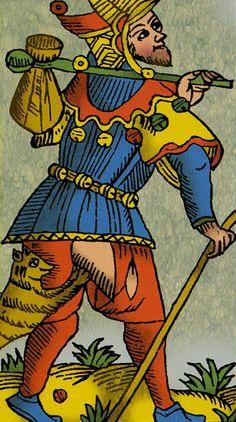 The Fool - Universal Tarot of Marseille (Claude Burdel)