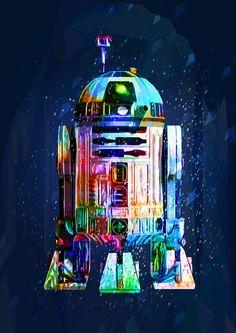 Star wars poster, wall art, darth vader, stormtrooper, art print