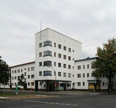 Siedlung Weiße Stadt 1929 Berlin-Reinickendorf Otto Salvisberg + Wilhelm Büning + Bruno Ahrends