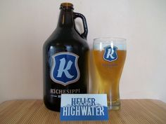 Heller High Water from Kichesippi Beer Company in Ottawa, Ontario is a very easygoing and refreshing beer that is perfectly suited to warm weather.