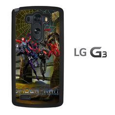 spiderman collage halloween X2741 LG G3 Case