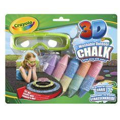 Crayola 3D Sidewalk Chalk
