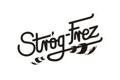 Logotype for Stróg-Frez Typography, Arabic Calligraphy, Behance, Gallery, Letterpress, Letterpress Printing, Roof Rack, Arabic Calligraphy Art, Fonts