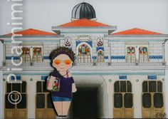 The Istanbul Series - Büyükada Istanbul, Illustration, Artwork, Art Work, Work Of Art, Auguste Rodin Artwork, Illustrations