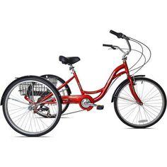 26 inch Kent Monterey Trike, Red