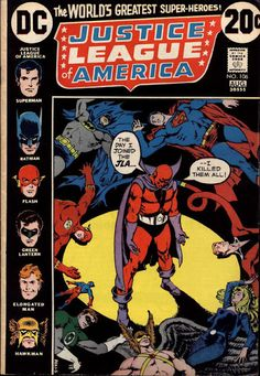Justice League of America #106   comic books comics