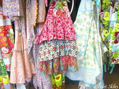 Create Beauty: Aprons Pillows Flowers