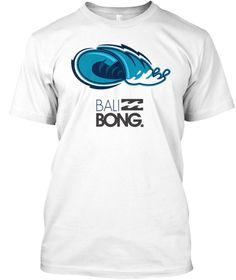 Bali White T-Shirt Front