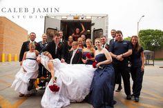 EMT - Firefighter - Wedding Day - Bride and Groom