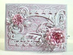 *love* the embossing and frame!