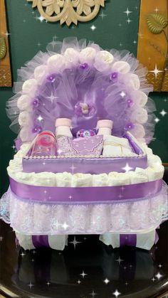 Baby Shower Purple, Baby Shower Niño, Shower Bebe, Unicorn Baby Shower, Baby Shower Princess, Baby Shower Diapers, Baby Shower Balloons, Girl Baby Showers, Baby Shower Crafts