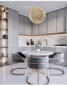 44 Stunning Modern Dining Room Furniture Ideas