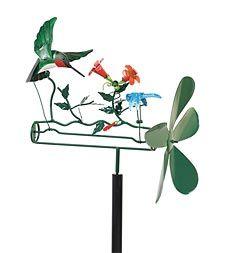 Hummingbird Whirligig
