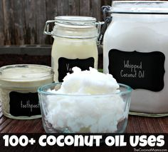 100+ Everyday Coconut Oil Uses