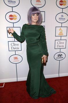 Kelly Osbourne Clive Davis bash