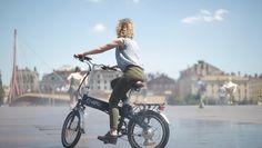 détente en vélo électrique pliant VEPLI Jazzy ... ebike !