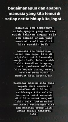 Message Quotes, Reminder Quotes, Self Reminder, Text Quotes, Mood Quotes, Life Quotes, Cinta Quotes, Religion Quotes, Quotes Galau