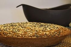 This Cape Seed Bread, baked in a Lekue Baker, is a dense and chewy loaf full of seeds and good flavor.