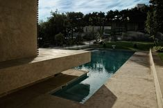 Sohanak Swimming Pool by Kourosh Rafiey Architectural Design Studio (KRDS), Tehran, Iran Architectural Design Studio, Modern Architecture Design, Pavilion Architecture, Teheran, Concrete Pool, Sauna, Private Garden, Pool Designs, Tehran Iran
