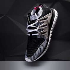 Up your sneaks collection with the adidas Originals Tubular Nova Primeknit Trainer in Vintage White & Black.
