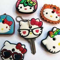 Capinhas para Chave - Hello Kitty