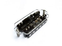 """Cycfi XR 6 Quad Neo Series Extended Response Pickups - """"Unlike traditional high-impedance passive pickups there are no big peaks and dips in the spectrum... The pickups are very rich in harmonics, with uber-clean sounds, lots of overtones and crystal clear highs... On the low end of the audio spectrum you get tight, well-defined and focused bass."""""""