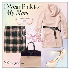 """""""I Wear Pink For My Mom"""" by pat912 ❤ liked on Polyvore featuring Markus Lupfer, Hollister Co., Louis Vuitton, Christian Louboutin, polyvoreeditorial and IWearPinkFor"""
