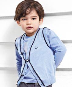 ALALOSHA: VOGUE ENFANTS: Armani Junior AW'13 Toddler boys collection