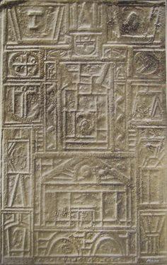 """Enrique Medina  """"Constructivo V"""" Acrílico sobre tela 55 X 49 cms.  http://www.portondesanpedro.com/ver-producto.php?id=11737"""
