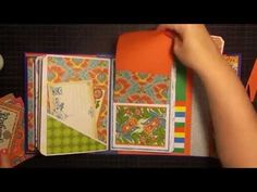 Envelope Mini Part 10 of 11 {Cover and Tags} - YouTube