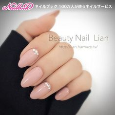 Here are some hot nail art designs that you will definitely love and you can make your own. You'll be in love with your nails on a daily basis. Classy Nails, Fancy Nails, Stylish Nails, Simple Nails, Trendy Nails, Nude Nails, Pink Nails, My Nails, Gems On Nails