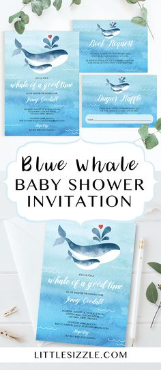 168 Best Whale Themed Baby Shower Ideas Images On Pinterest Baby