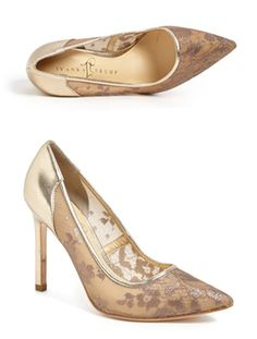 Lace Pumps - Mother of the Bride Dresses and Shoes - A guide to styles for the big day