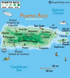 Puerto Rico, Greater Antilles (USA)