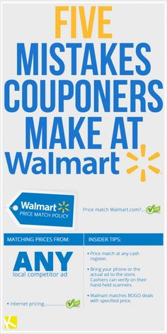 5 Mistakes Couponers Make at Walmart all rebate coupon sites listed here Extreme Couponing, How To Start Couponing, Couponing For Beginners, Couponing 101, Save Money On Groceries, Ways To Save Money, Money Tips, Money Saving Tips, Money Savers