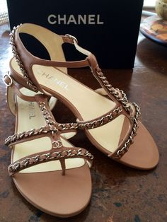My new Chanel sandals