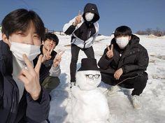 with Jae Snow Day6 Dowoon, Bad Songs, Kim Wonpil, Young K, Korean Boy, K Idol, Korean Actors, Handsome, Kpop