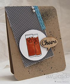 Super fun card created by @Tenia Nelson using the Grillin and Chillin stamp set.